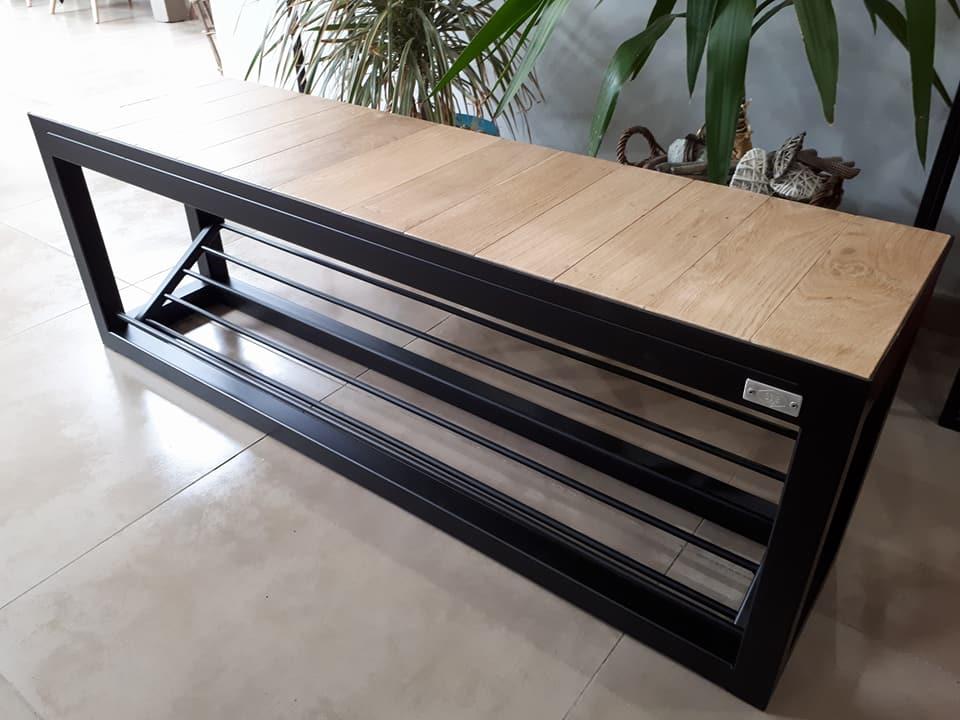banc range chaussures dcis design. Black Bedroom Furniture Sets. Home Design Ideas