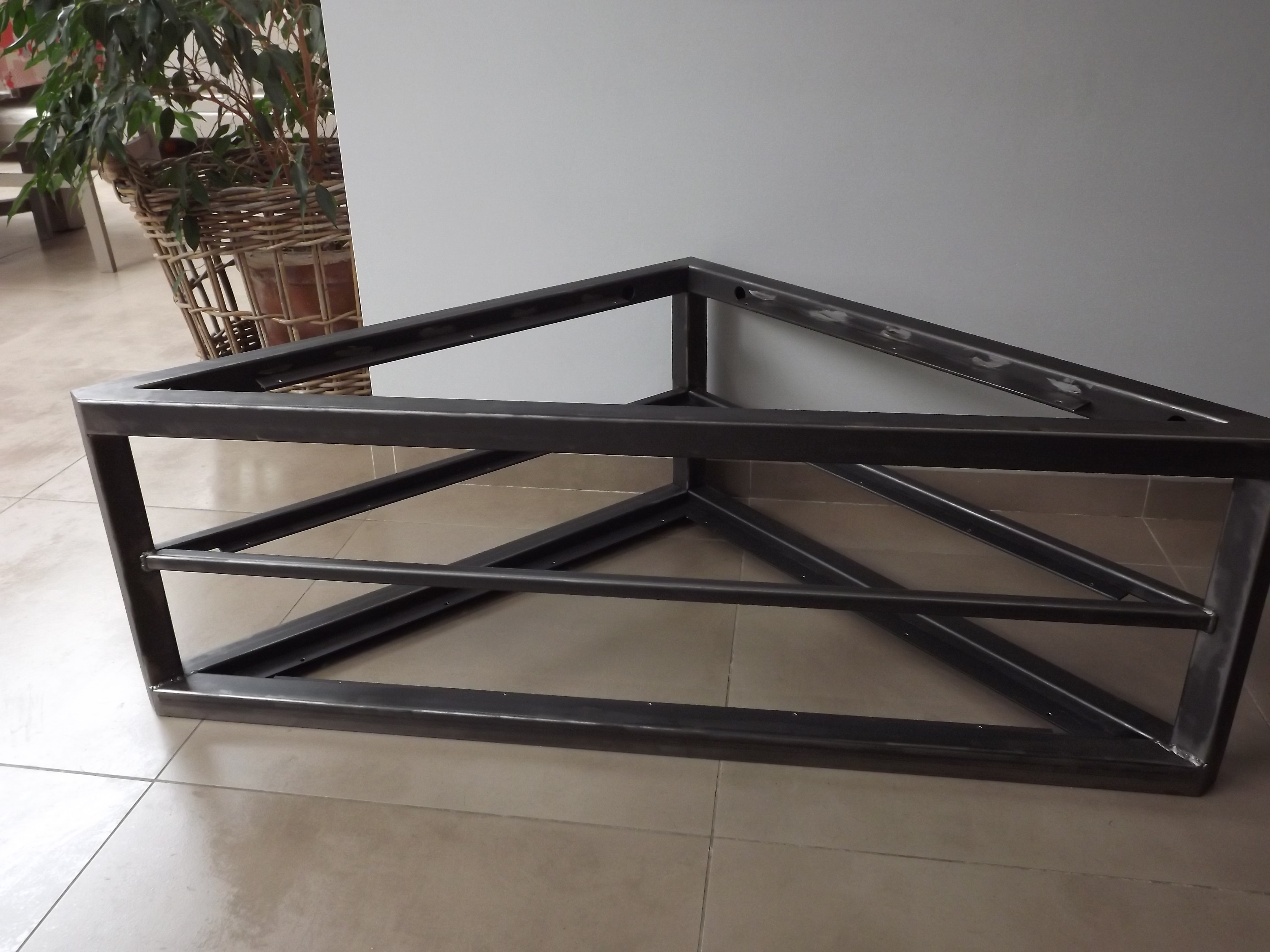 Meuble Tv Pour Coin structure métallique meuble tv - dcis design